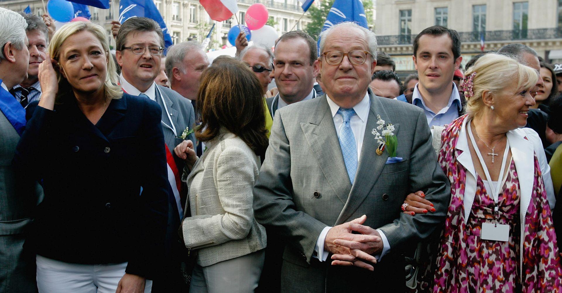 Francuska Nacionalna fronta isključila utemeljitelja Jean-Marie Le Pena