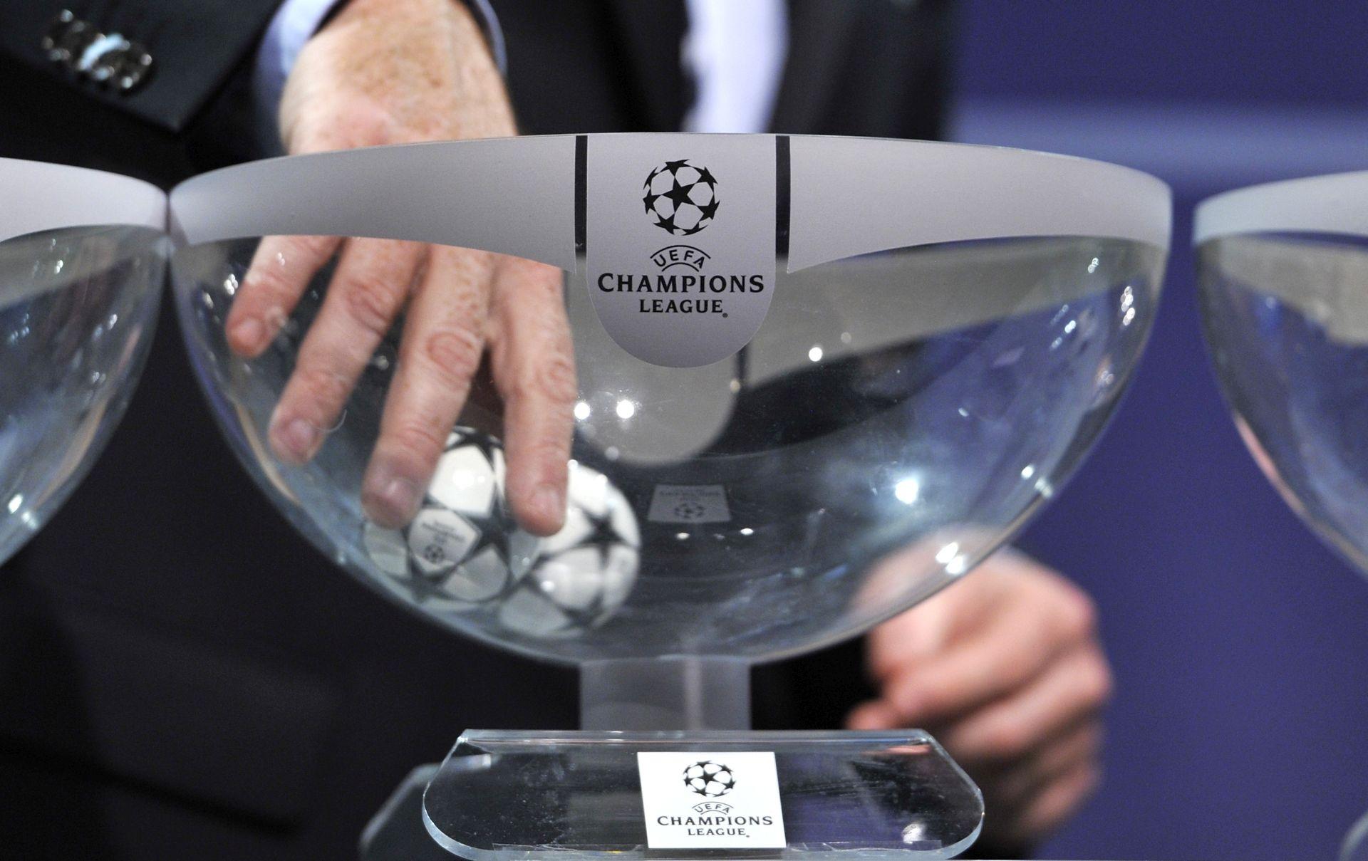 Ždrijeb parova osmine finala Lige prvaka 12. prosinca