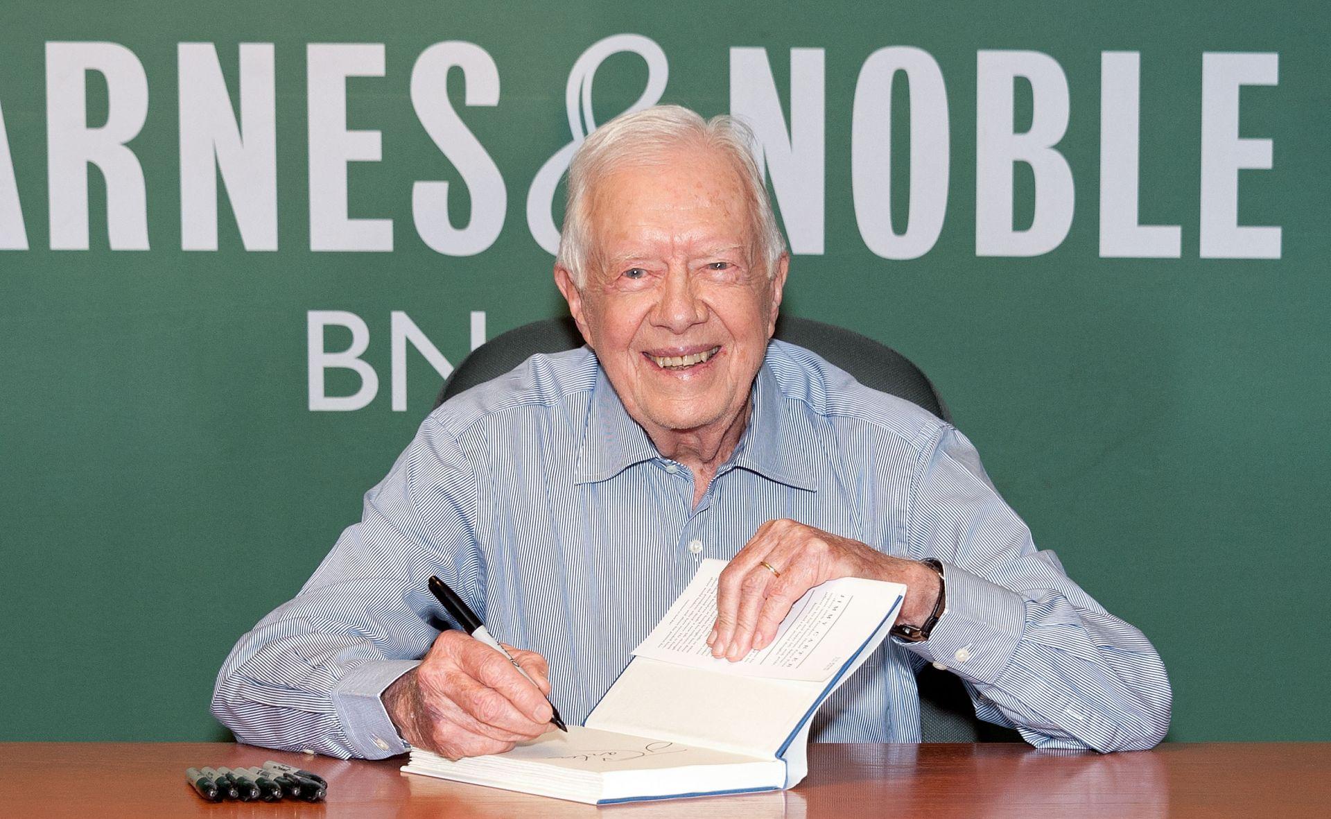 BIVŠI AMERIČKI PREDSJEDNIK Jimmy Carter objavio kako boluje od raka