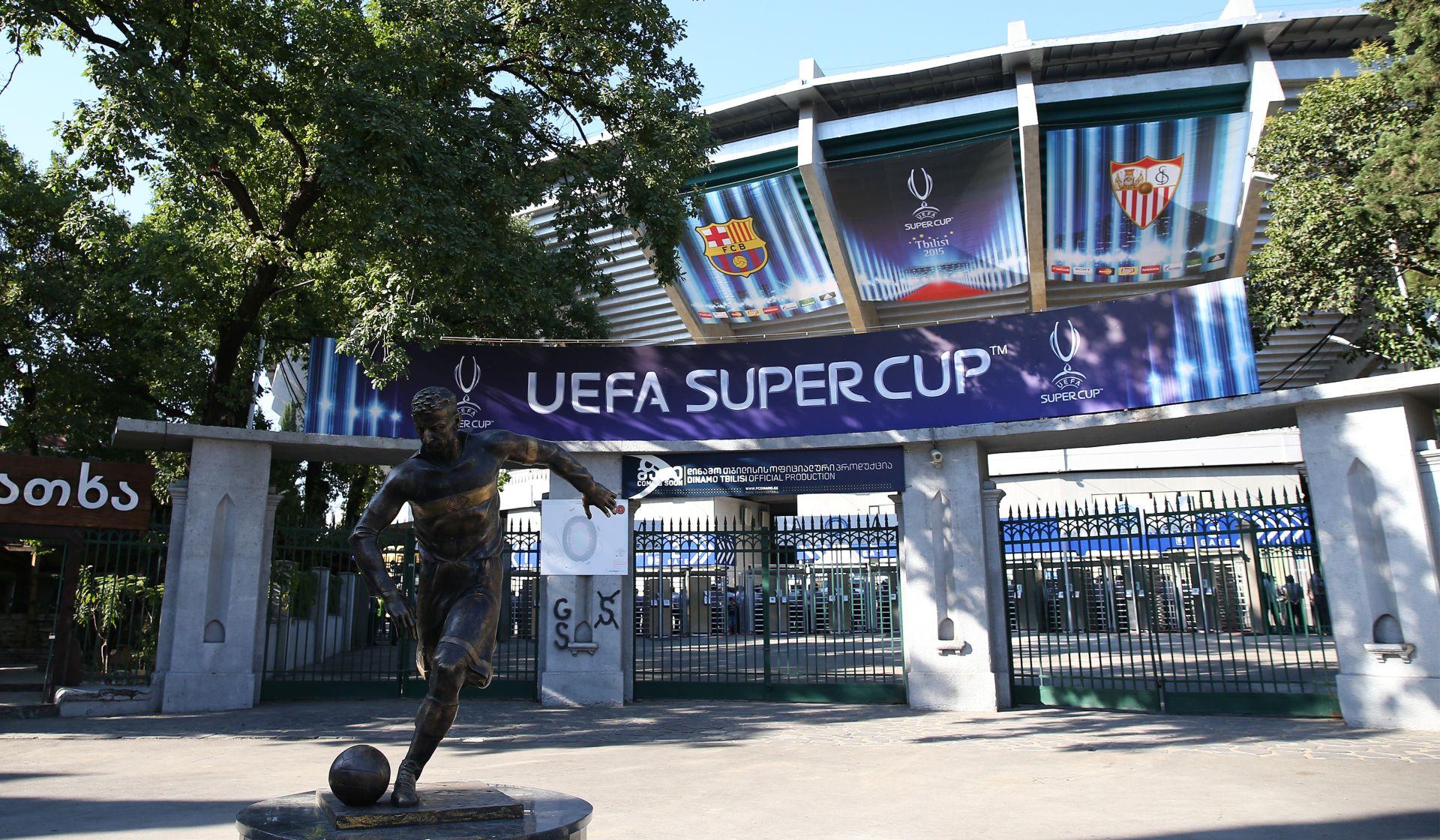 EUROPSKI SUPERKUP Barcelona i Sevilla za naslov