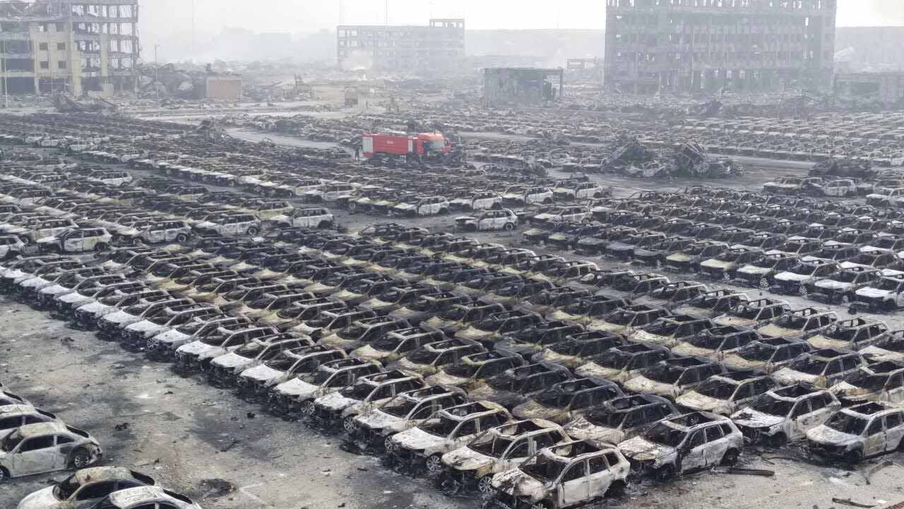 Aftermath After The Massive Explosion In Tianjin