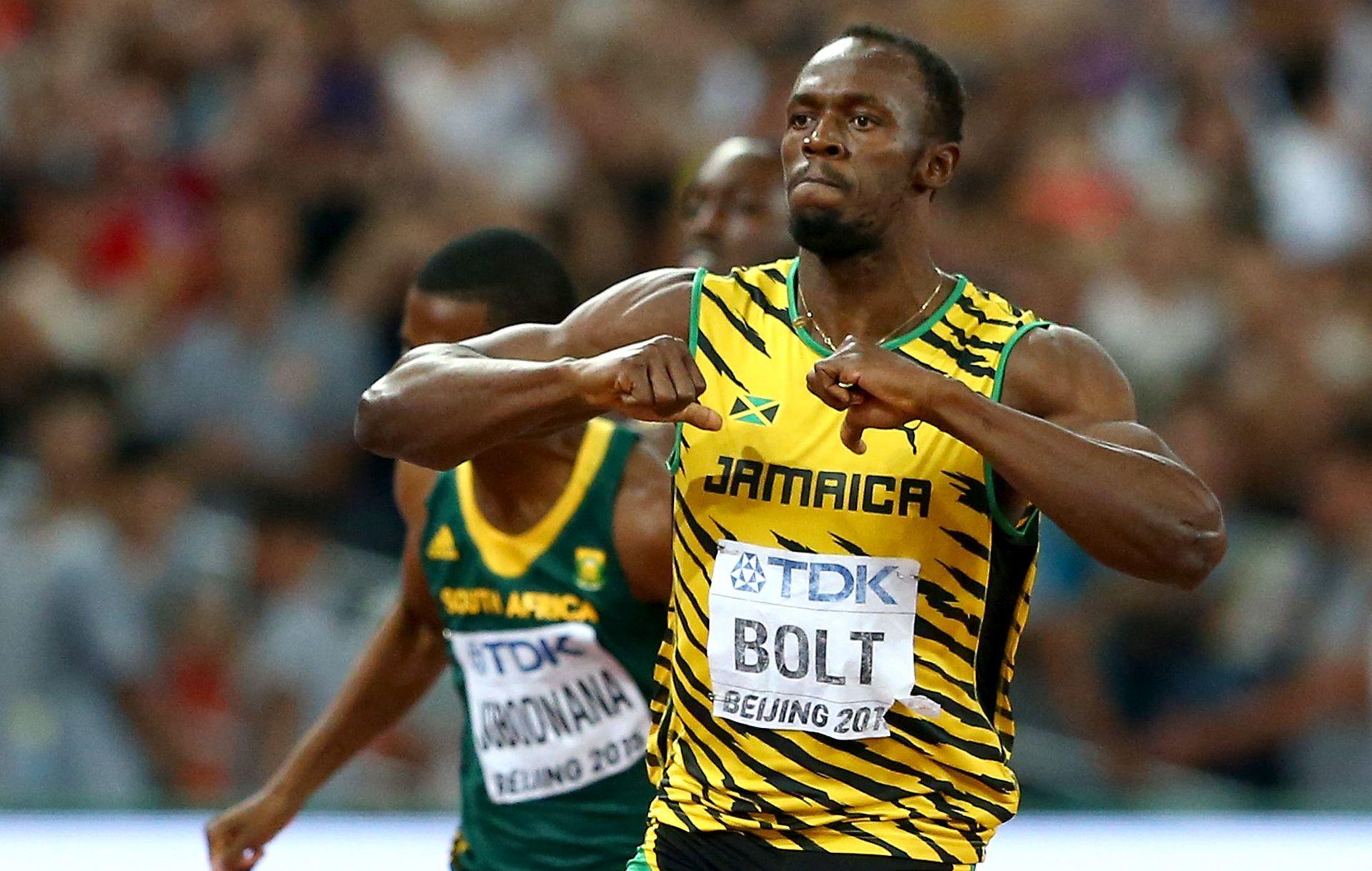 VIDEO: NEMA MU RAVNOG Boltu zlato i na 200 metara, na kraju ga 'pokosio' fotograf