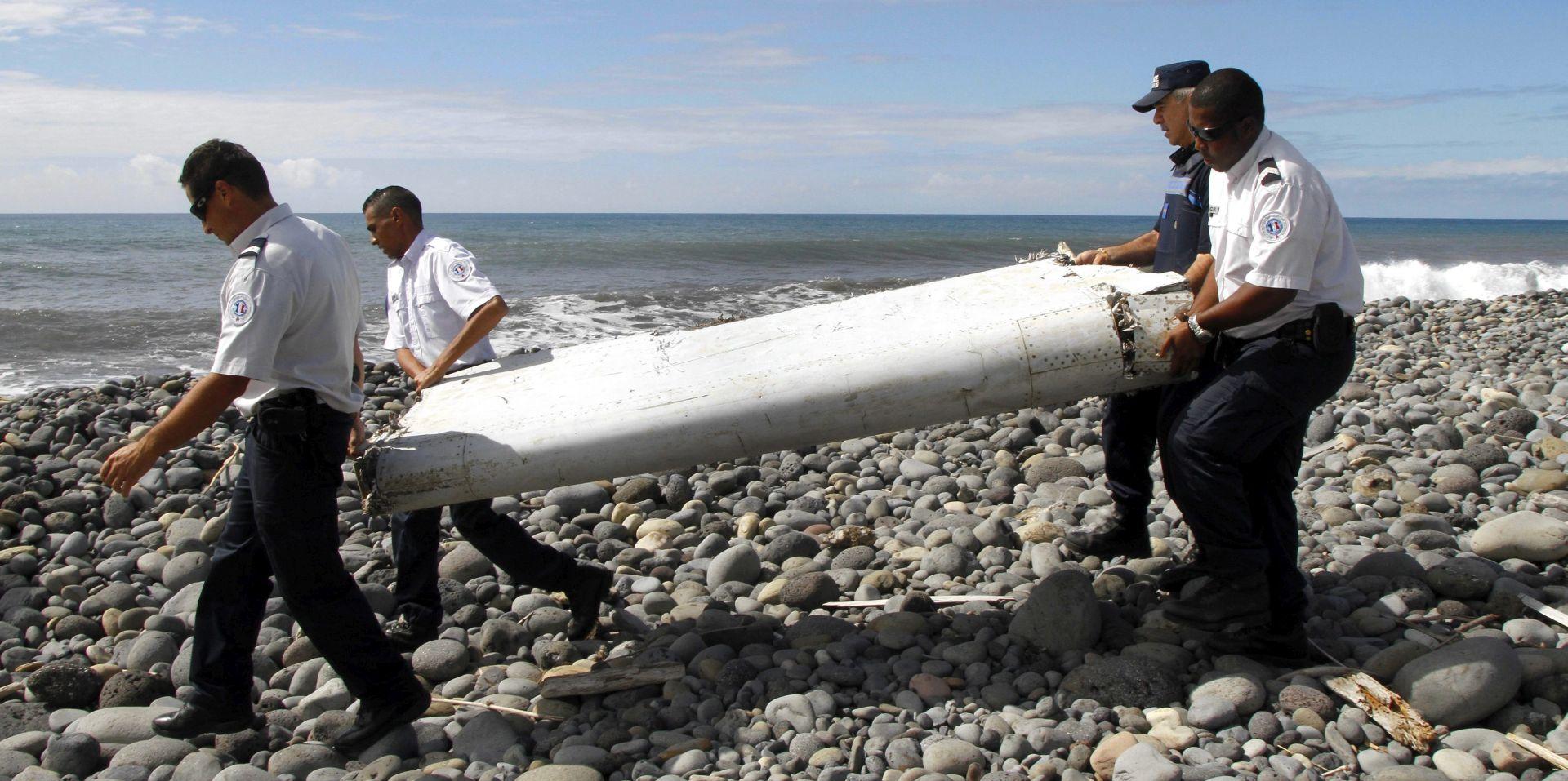 ANALIZE STRUČNJAKA POTVRDILE Dio zrakoplovnog krila s Reuniona pripada nestalom MH370