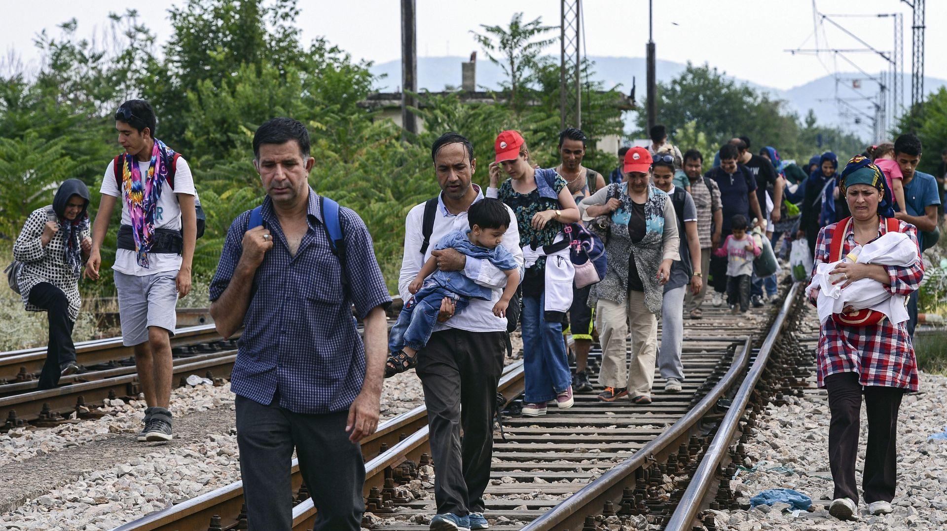 Kaos i tučnjava na grčkom Kosu prilikom registracije izbjeglica