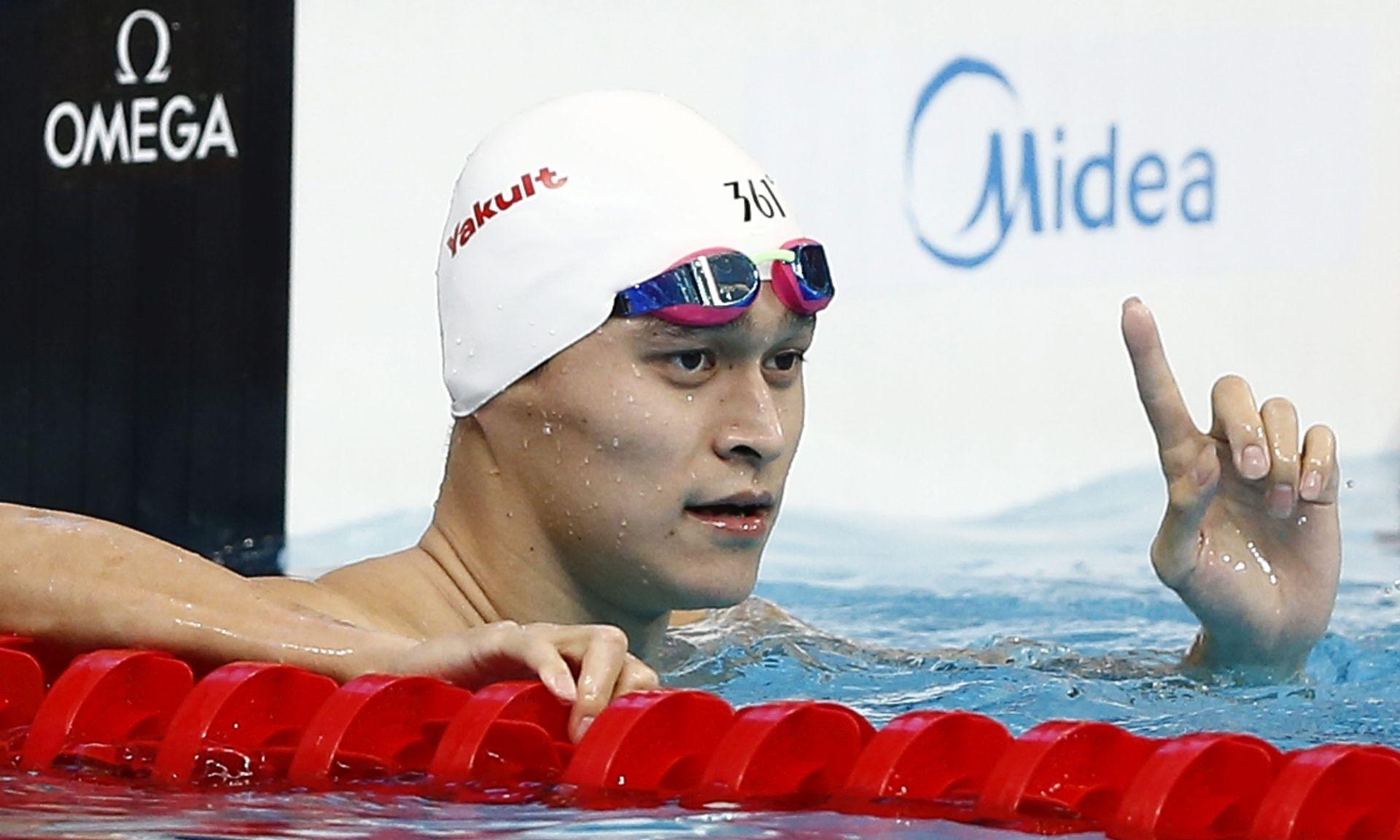 PLIVAČKO SP U KAZANJU Svjetski rekorder Kinez Sun Yang nije se pojavio u utrci na 1500m slobodno