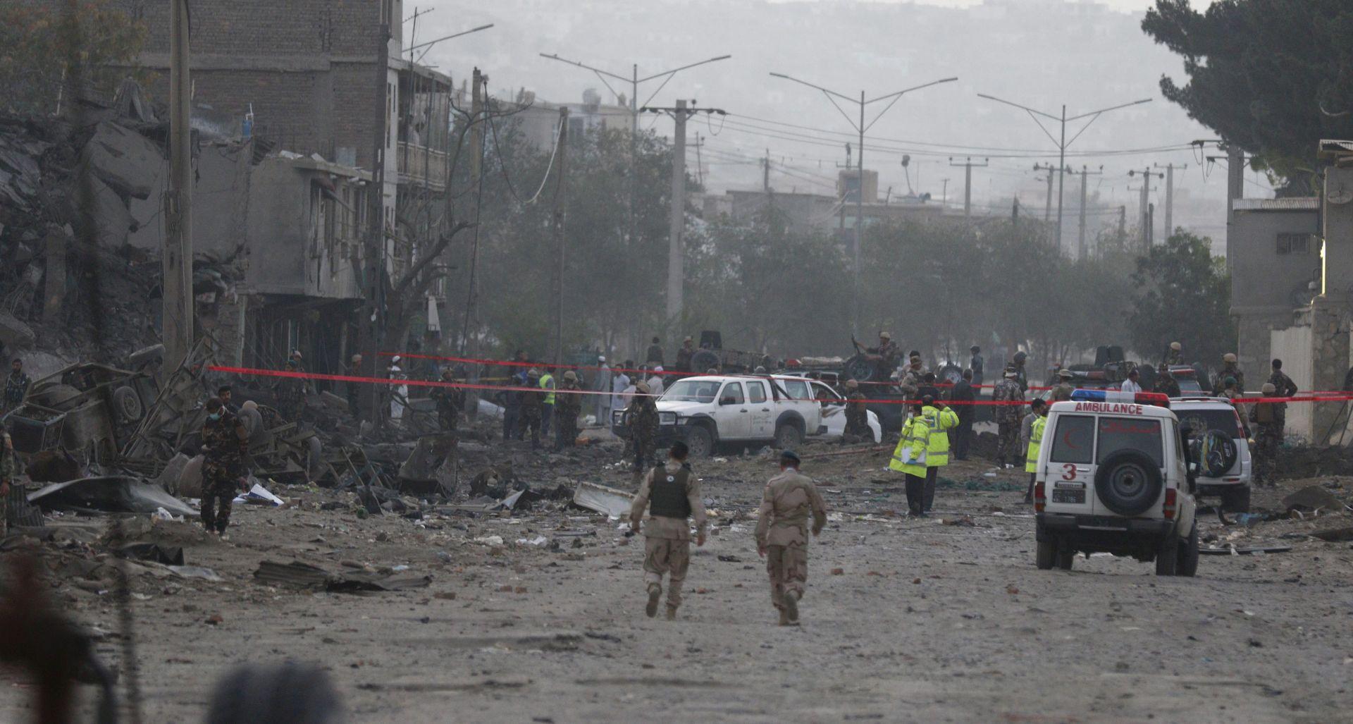 TALIBANI PREUZELI ODGOVORNOST Deseci mrtvih u napadu na policijsku akademiju u Kabulu