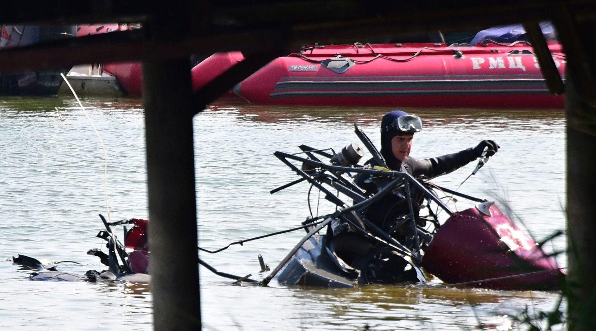 Najmanje osam poginulih u sudaru helikoptera i hidroaviona iznad Moskve