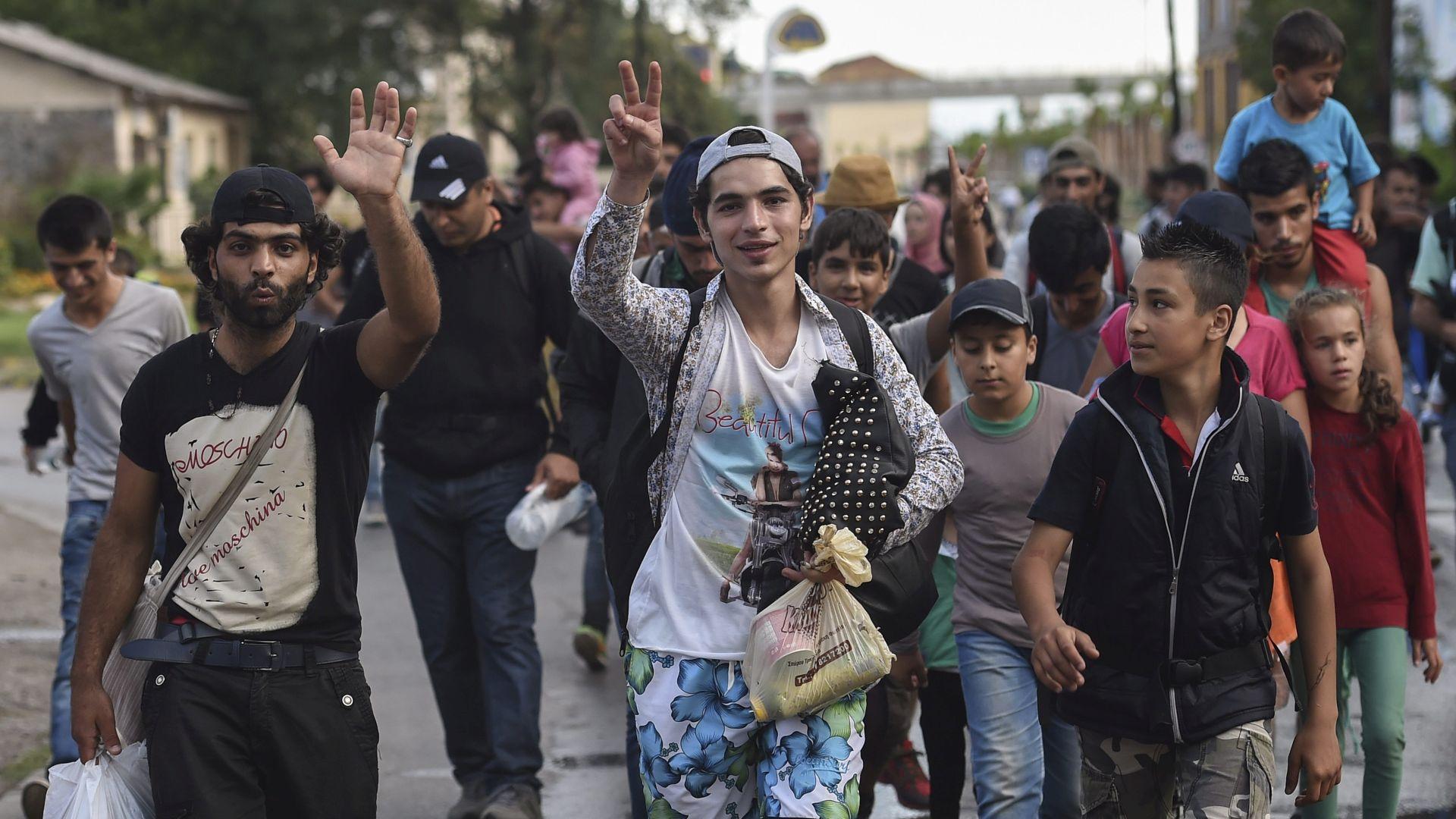 VIDEO: U Makedoniju pušteno više od 1500 migranata s ničije zemlje