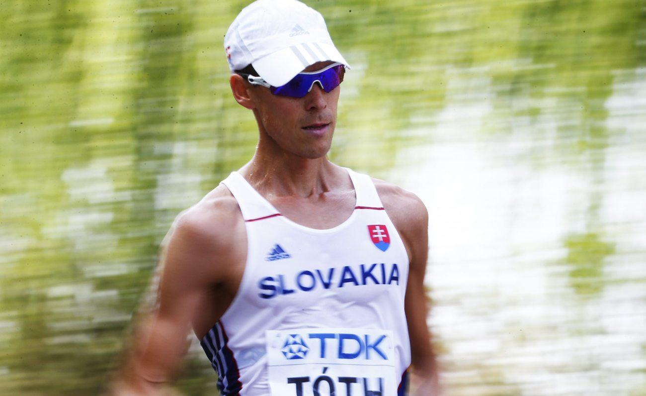 SP atletika: Slovak Toth najbrži hodač na 50km