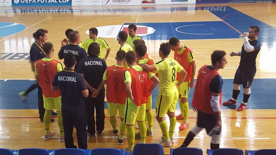 UEFA FUTSAL CUP: Hrvatski prvak Nacional prošao dalje