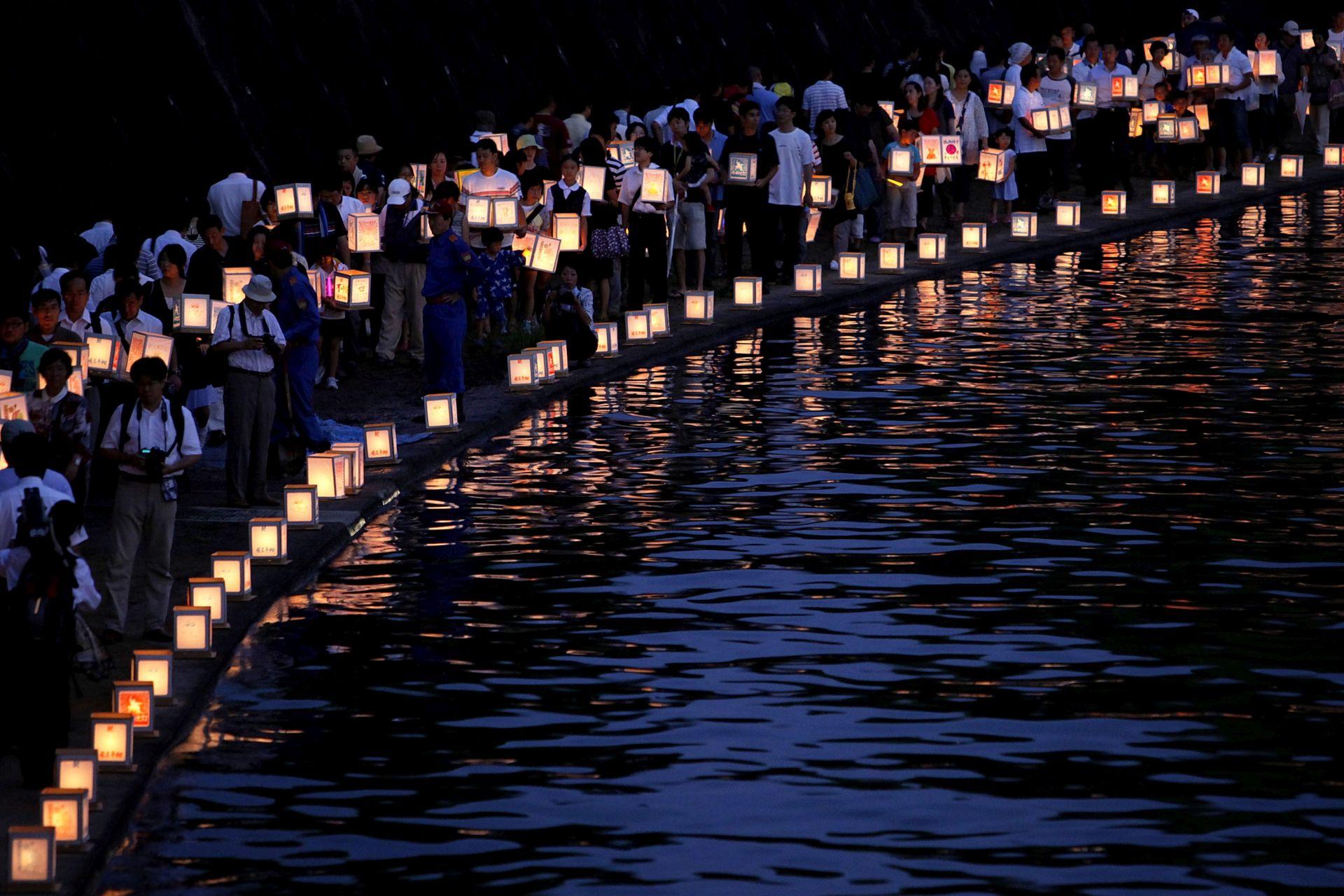 70 GODINA KASNIJE Nagasaki se prisjeća 74 000 ubijenih u atomskom napadu