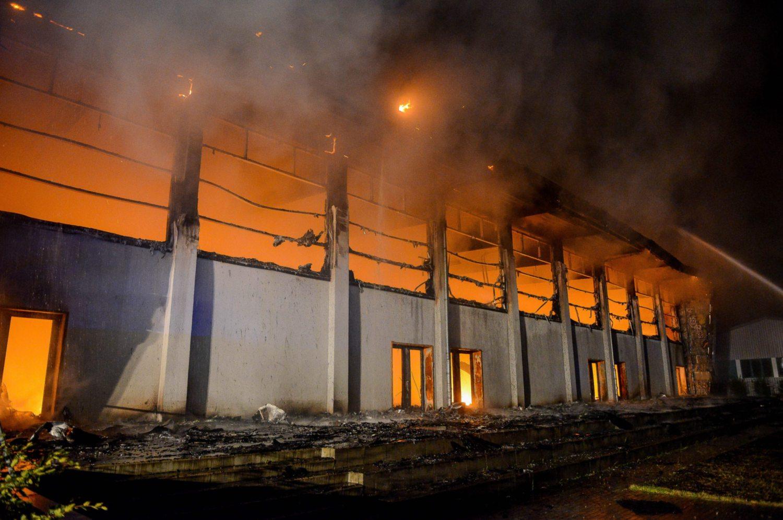 Požar 'progutao' školu kod Vrgorca