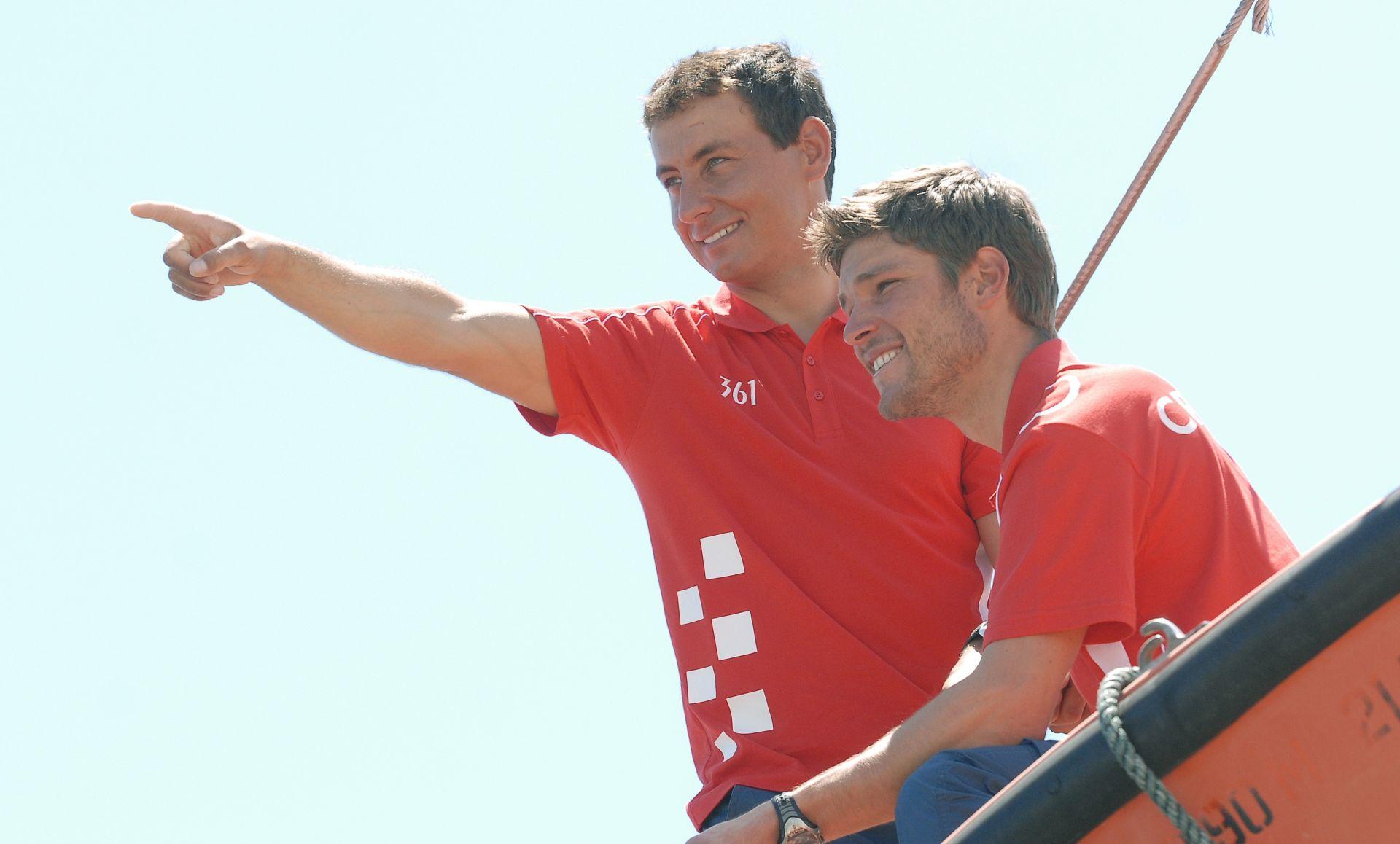 RIO DE JANEIRO Fantela i Marenić osvojili broncu na predolimpijskoj regati