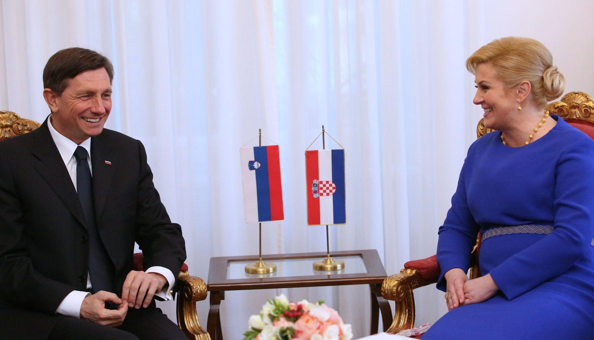 Predsjednici Grabar-Kitarović i Pahor predali zajedničko pismo Donaldu Tusku