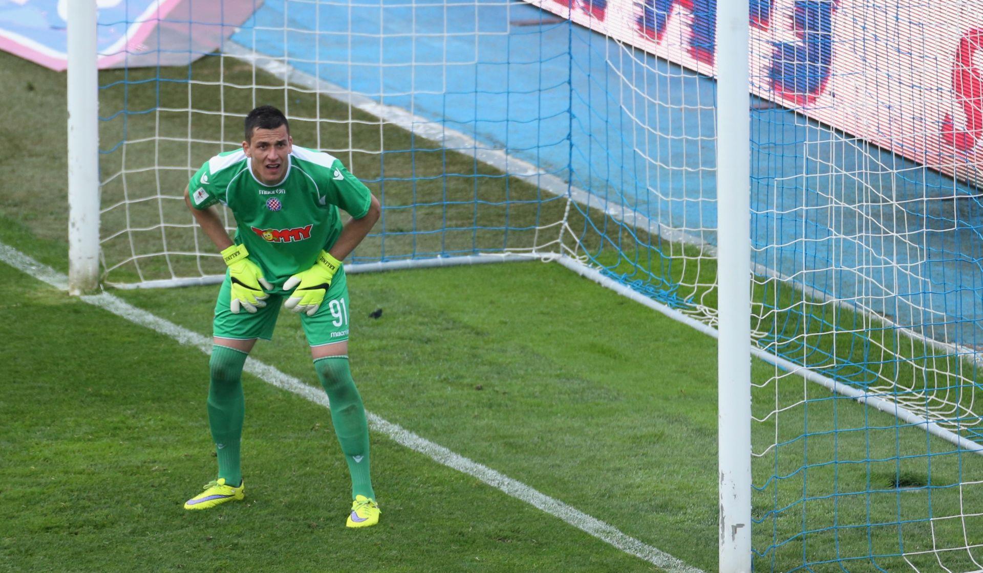 DVA LICA SPLIĆANA Kalinić spasio Hajduk od bolnijeg poraza, Torcida nije izdržala bez baklji