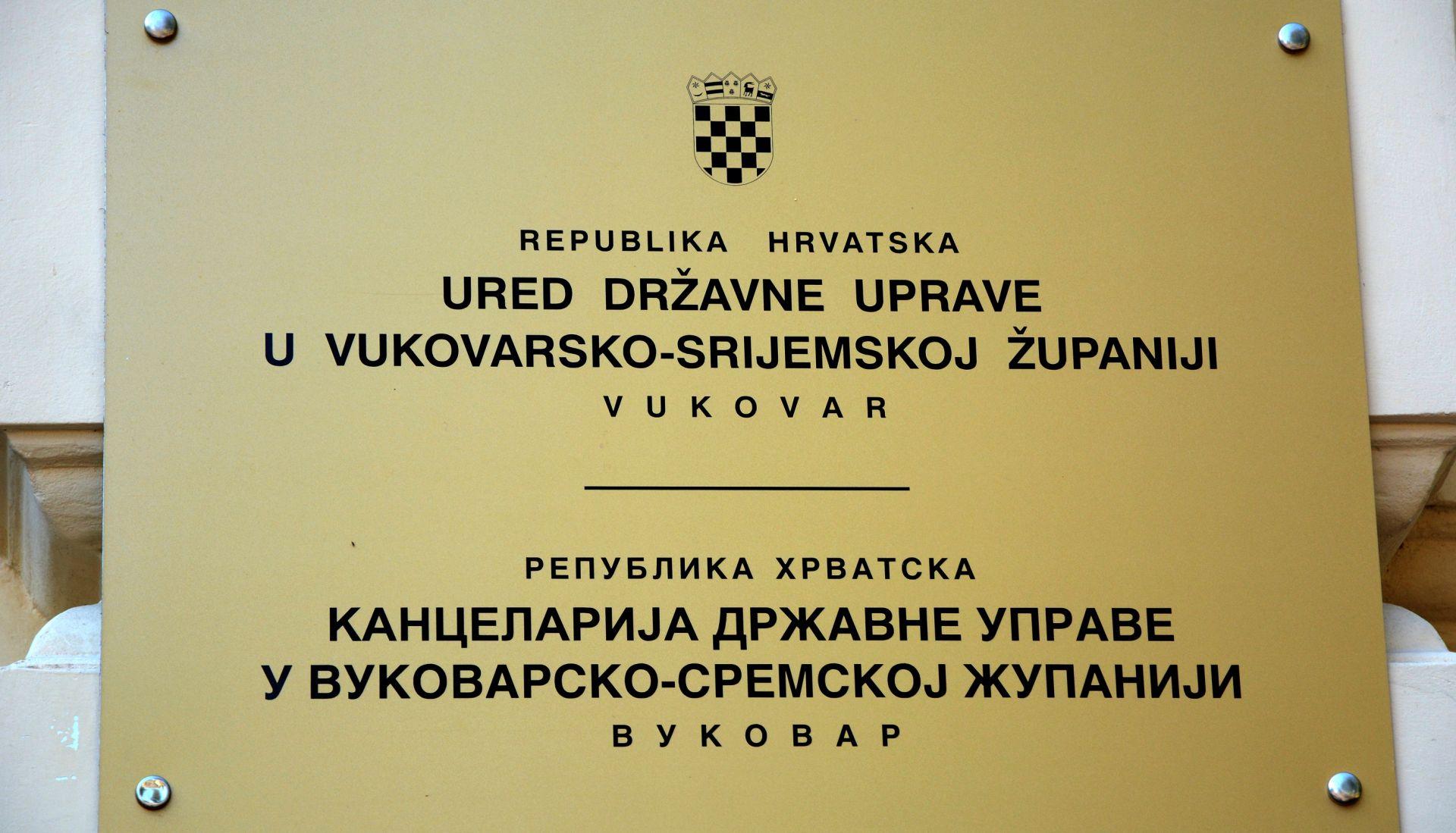 Ministarstvo: Obustavljamo izmjene Statuta Vukovara ocijenimo li ih neustavnim ili nezakonitim