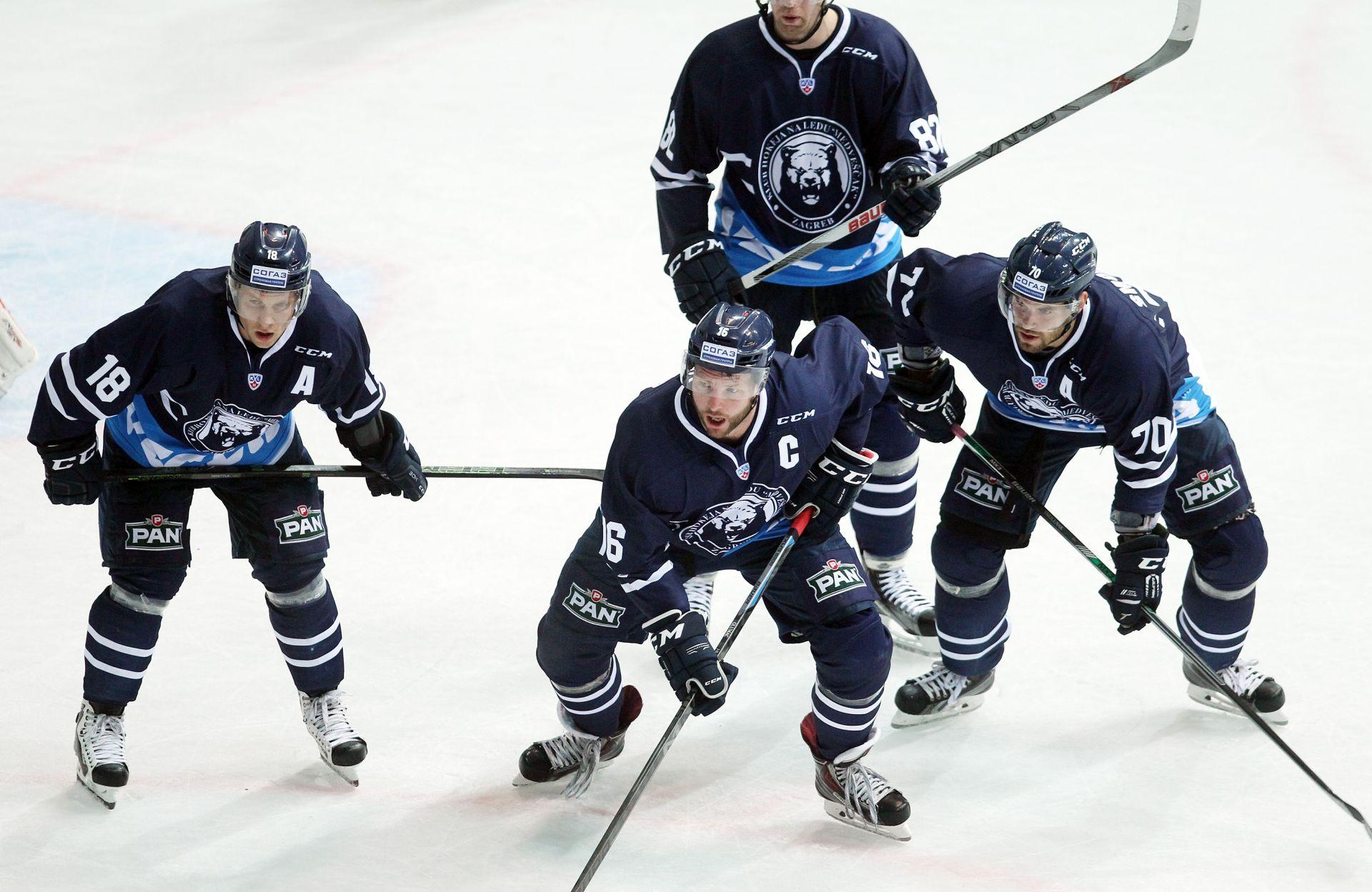 KHL: Medveščak poražen u Omsku