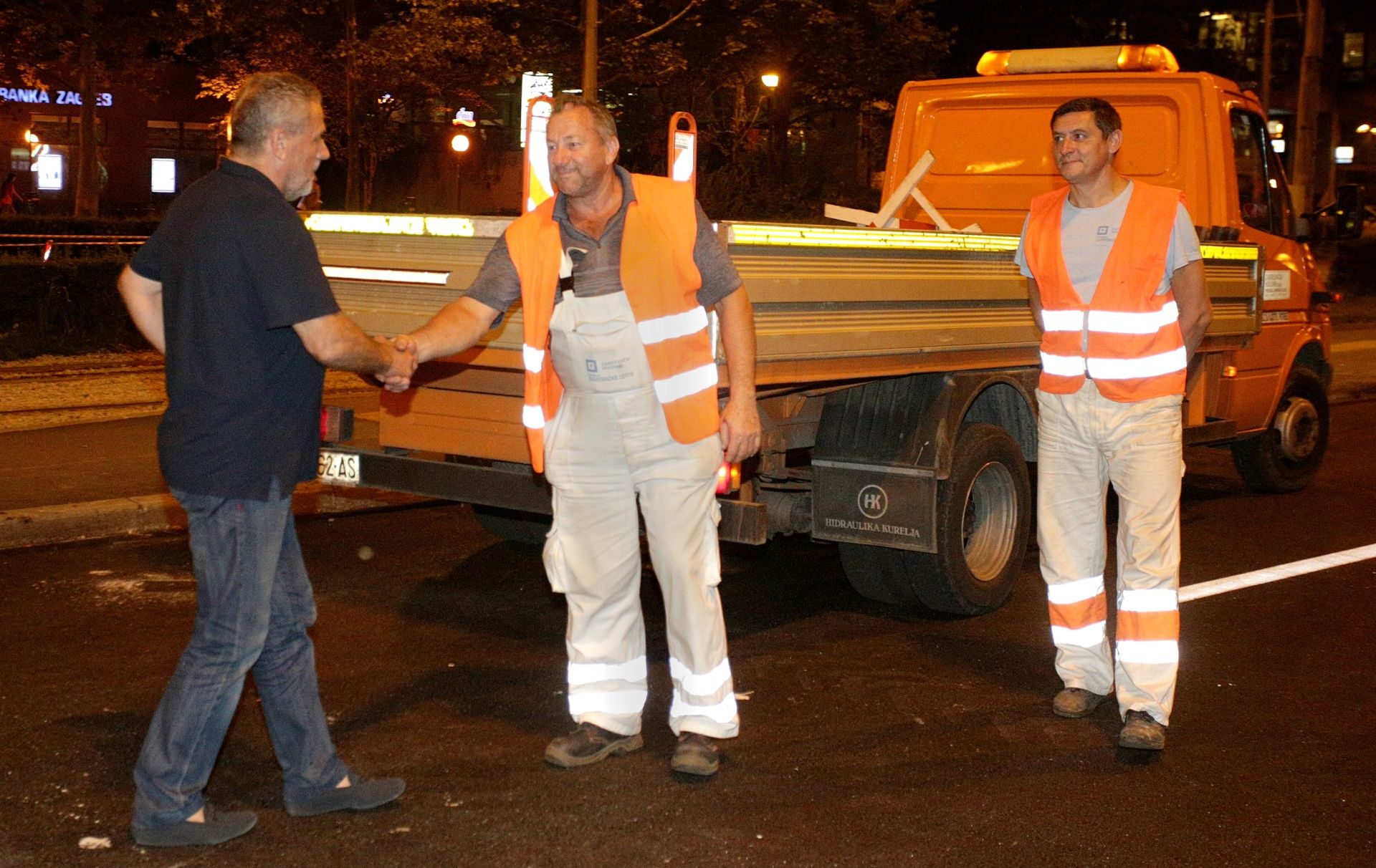 FOTO: Bandić otvorio dio Vukovarske ulice; završetak radova do ponedjeljka