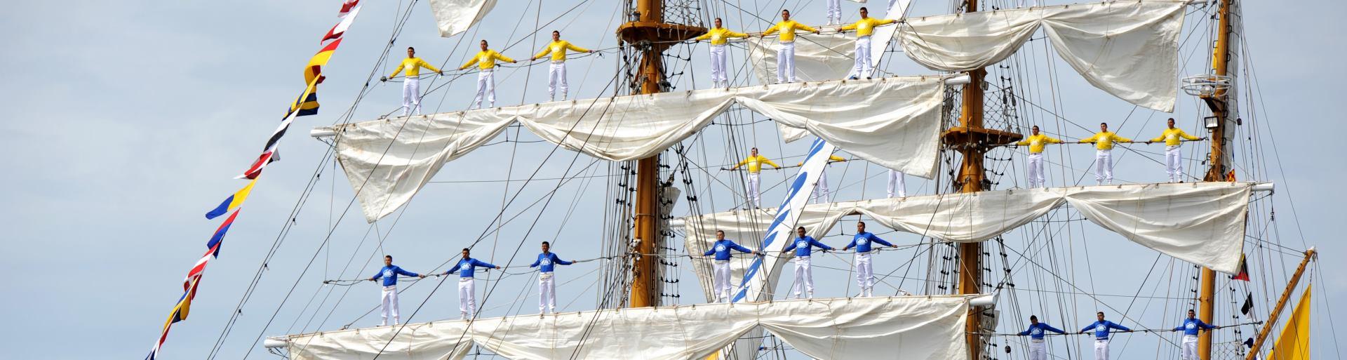 VIDEO: Traje Međunarodni Windjammer Sail Festival 2015