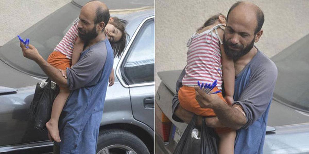 PROMIJENIO MU ŽIVOT Očajnom samohranom ocu iz Sirije aktivist pomogao u roku pola sata