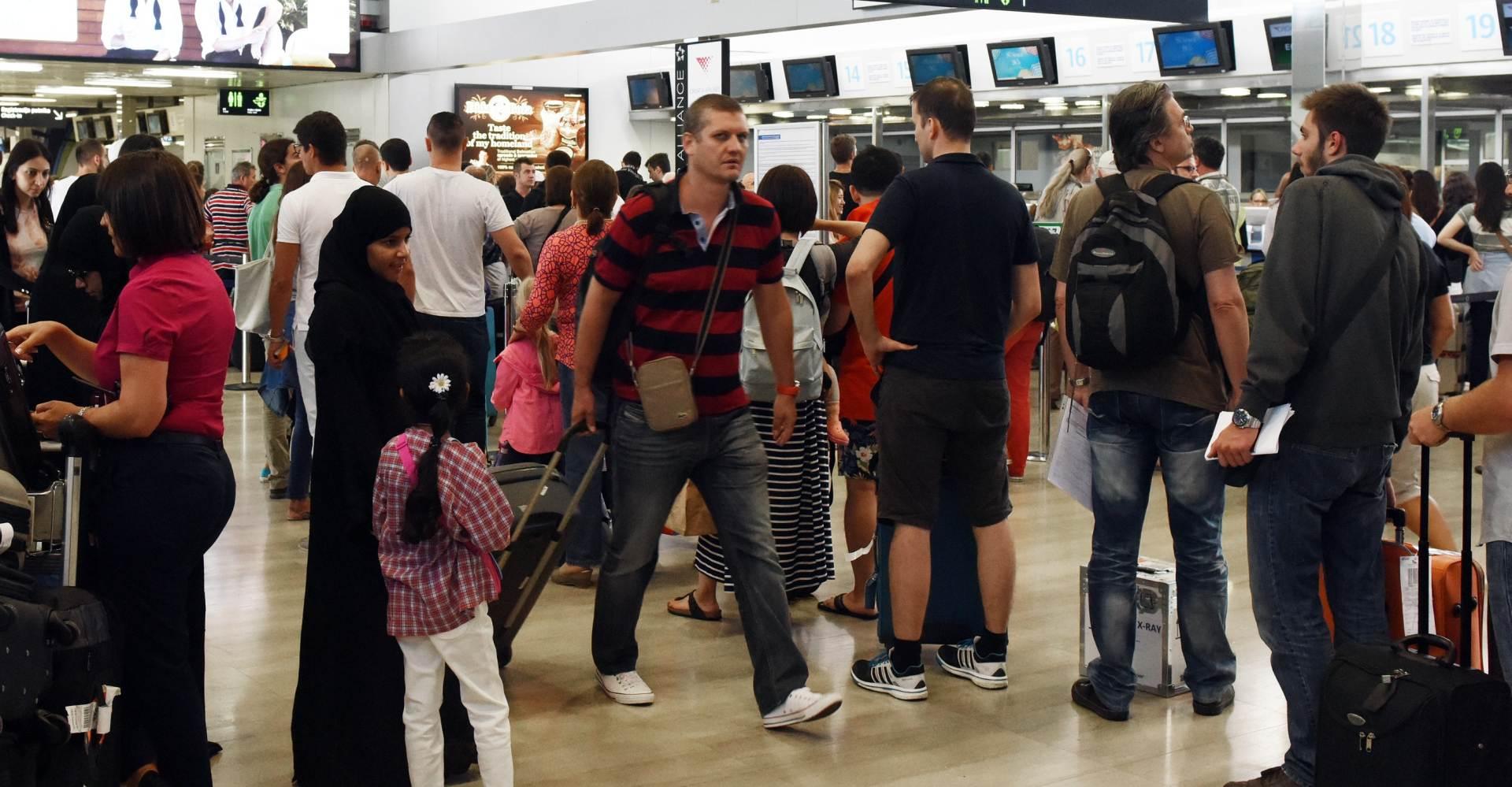 VELIKI RAST: U zračnim lukama u šest mjeseci oko 177 tisuća putnika više