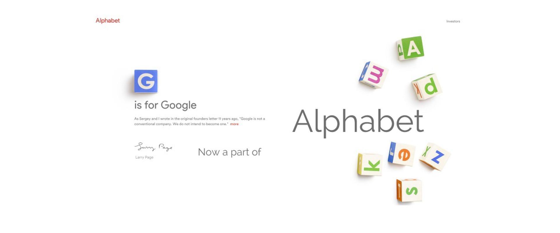 """10 ŠEFOVA koji će upravaljati """"Alphabetom"""", novom """"Googleovom"""" megakompanijom"""