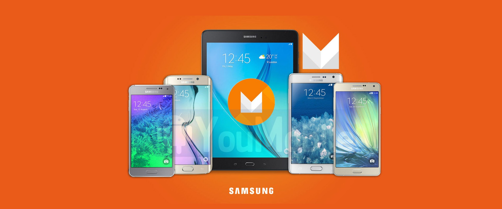 Samsungovi uređaji koji dobivaju nadogradnju na Marshmallow