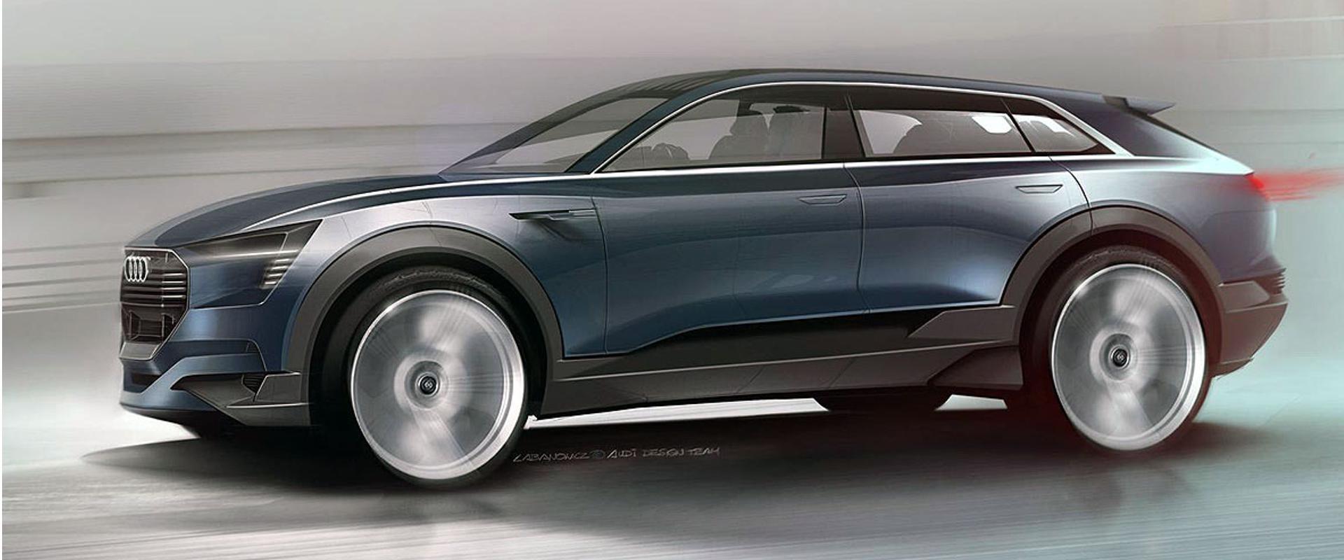 Audi će predstaviti električni crossover na sajmu u Fankfurtu