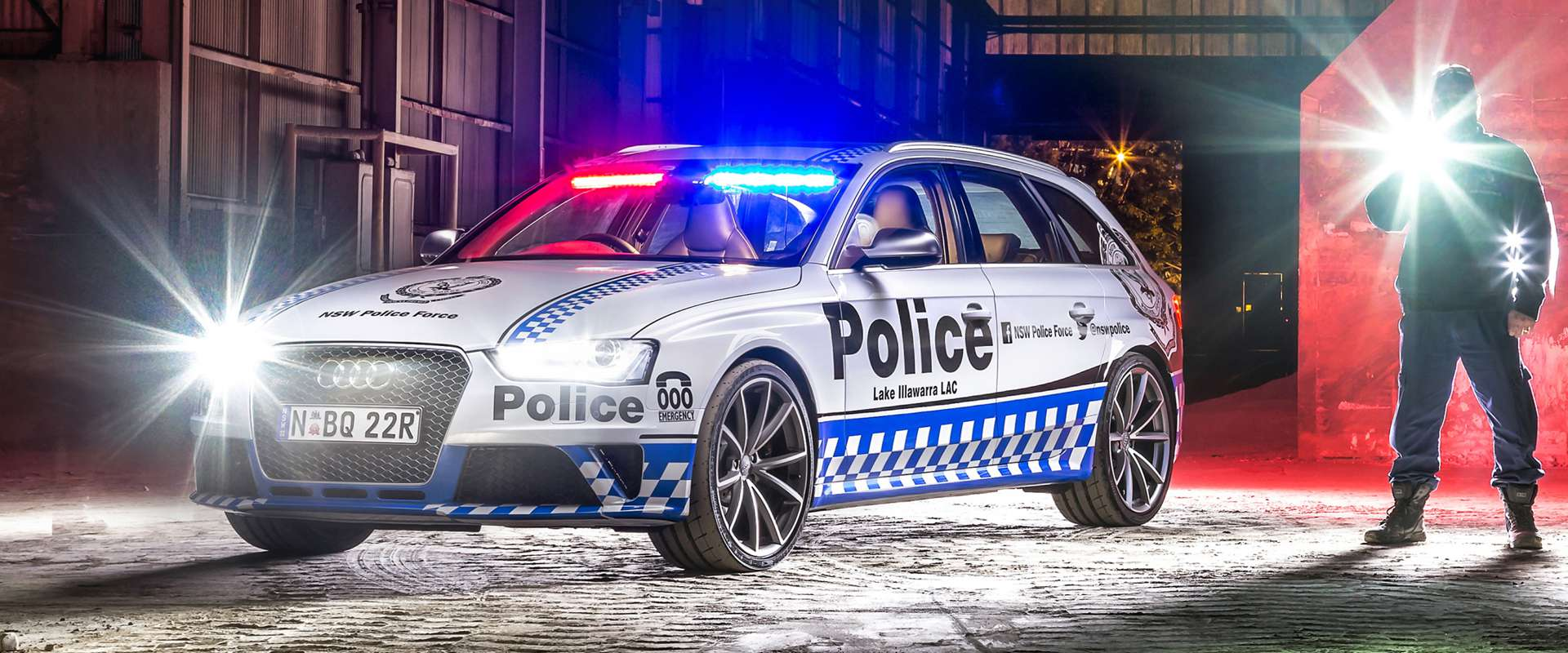 Australska policija pohvalila se novim automobilom