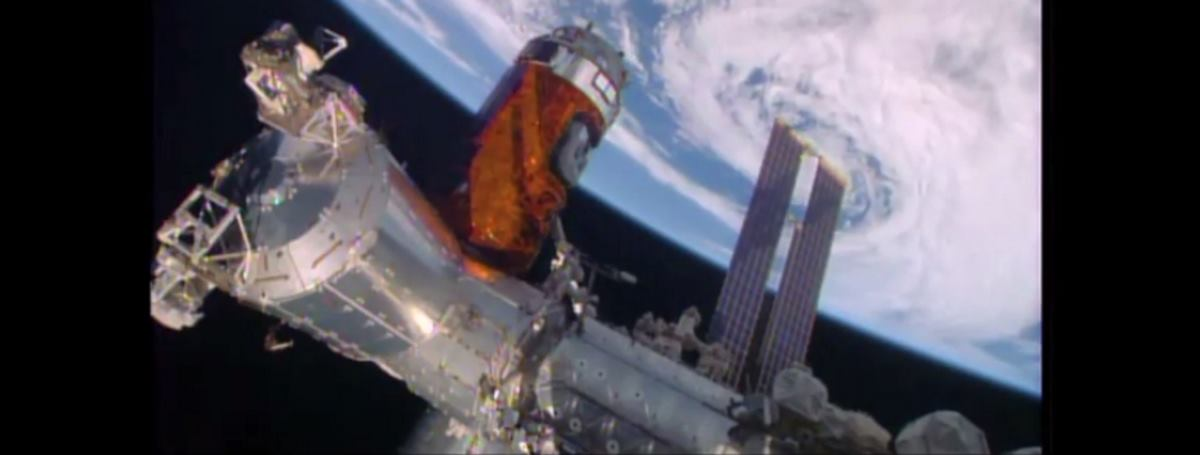 VIDEO: Japanska bespilotna letjelica stigla do Međunarodne svemirske postaje