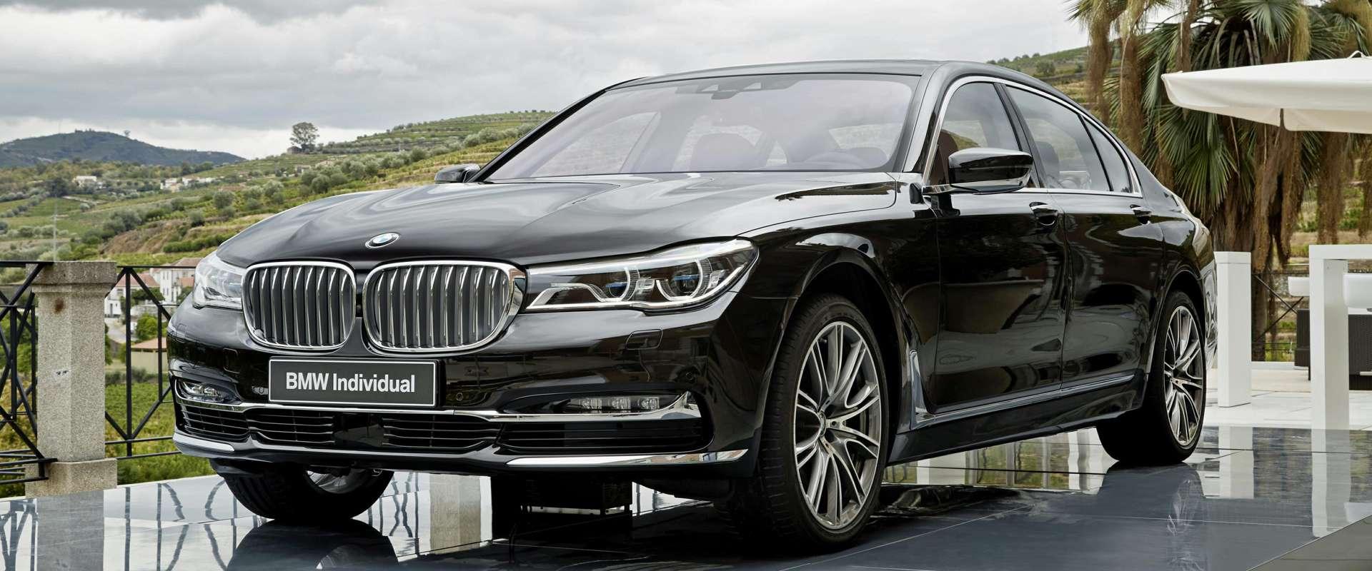 FOTO: Luksuz na kvadrat: BMW 750Li Individual i 740Le