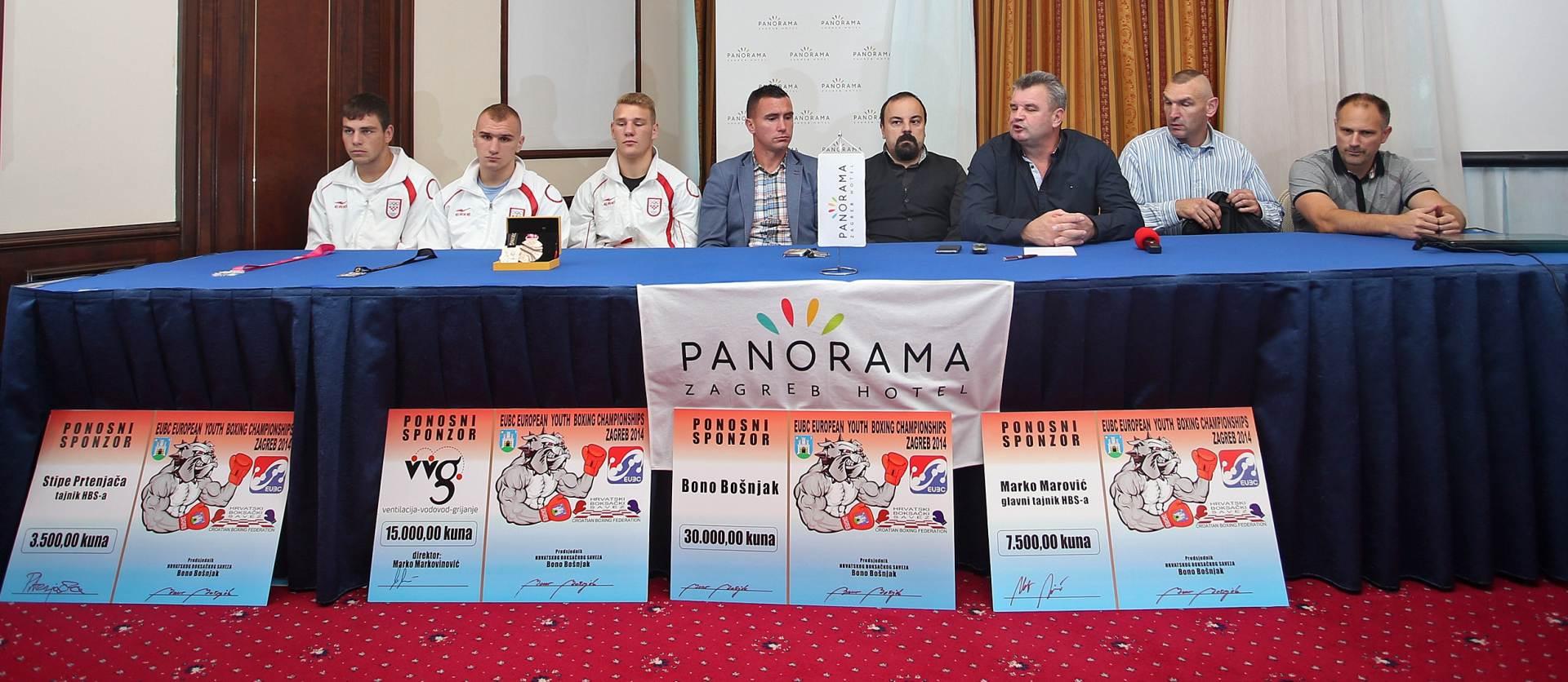"""Hrvatski boksači žele """"barem dvije medalje"""" s EP-a"""