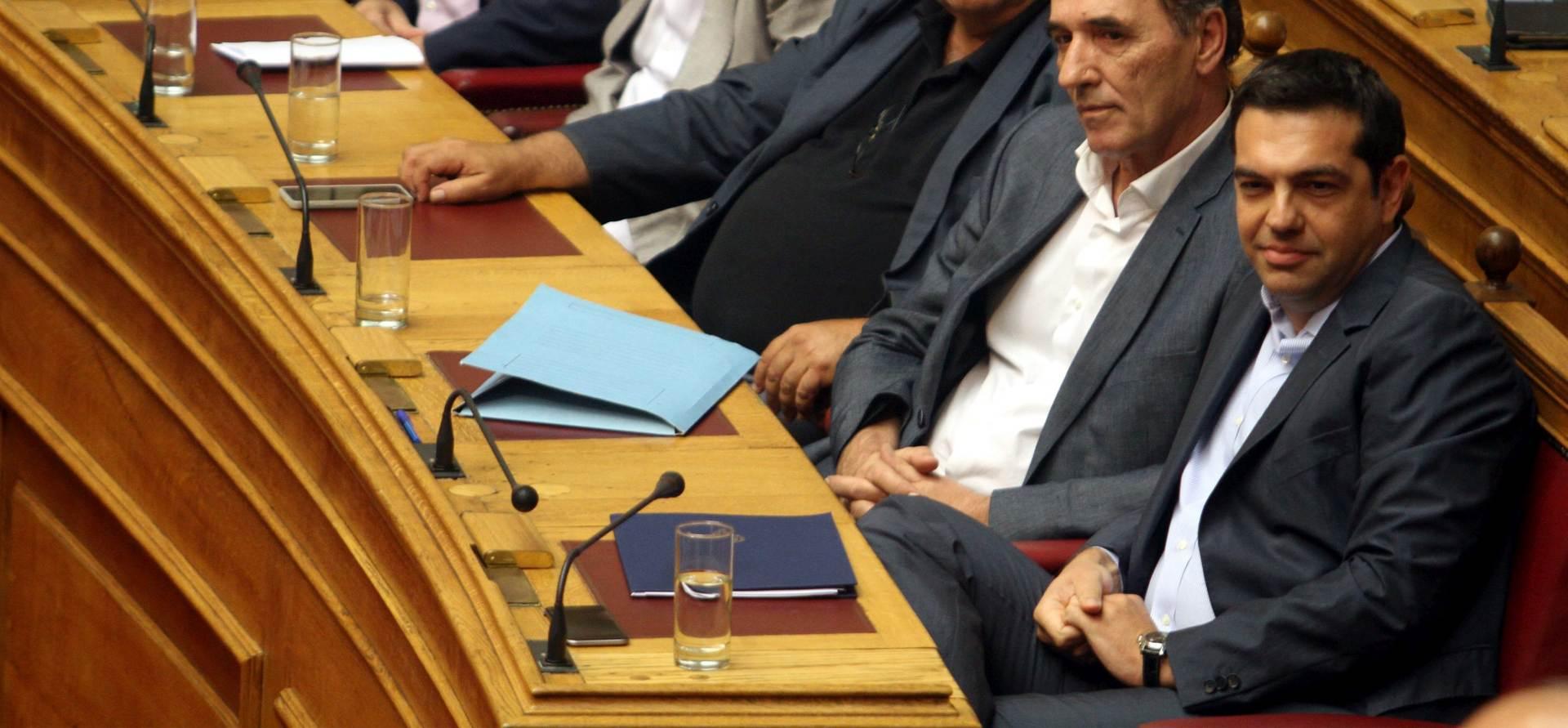 OŠTRI REZOVI: Grčki parlament odobrio proračun za 2016.