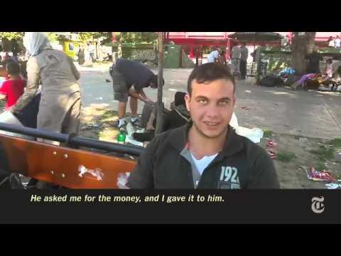 VIDEO: PIJE, PJEVA, ZABAVLJA DJECU Pijani Srbin među izbjeglicama šokirao Amerikance