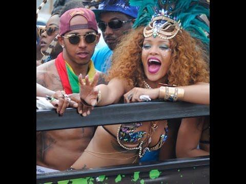 VIDEO: Rihanna i Lewis Hamilton uhvaćeni na karnevalu na Barbadosu