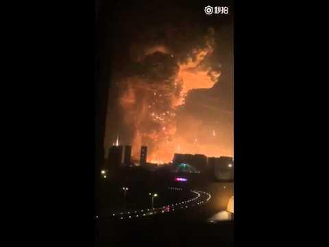 VIDEO: STRAH OD BROJNIH OZLIJEĐENIH Masovna eksplozija kontejnera sa zapaljivim materijalom u Kini
