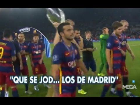 """VIDEO: BAŠ 'VOLI' MADRIĐANE Pique: """"Idemo slaviti, a ove iz Madrida tko j…"""""""
