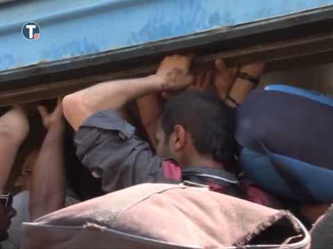 VIDEO: DRAMATIČNE SNIMKE Prestrašeni dječak ukrcan na vlak za Srbiju, shvatio da mu je obitelj ostala vani