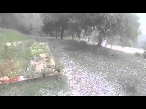 VIDEO: POGORŠANJE VREMENA U dijelu središnje Istre snažna tuča, munje izazvale požare