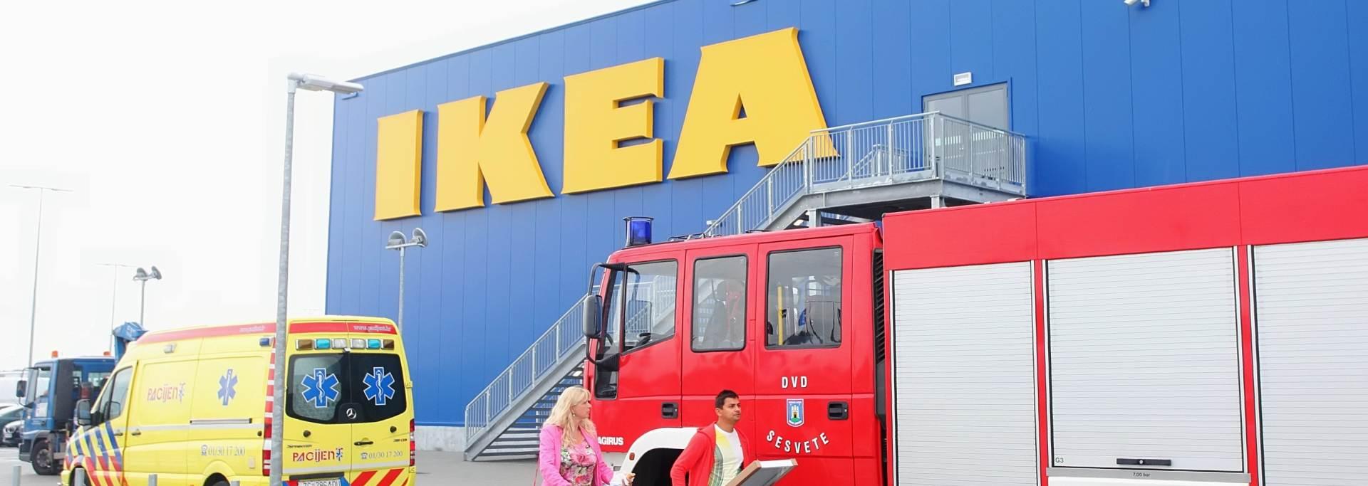 KUPCI ZAPREPAŠTENI: Zagrebačka Ikea jutros nakratko evakuirana