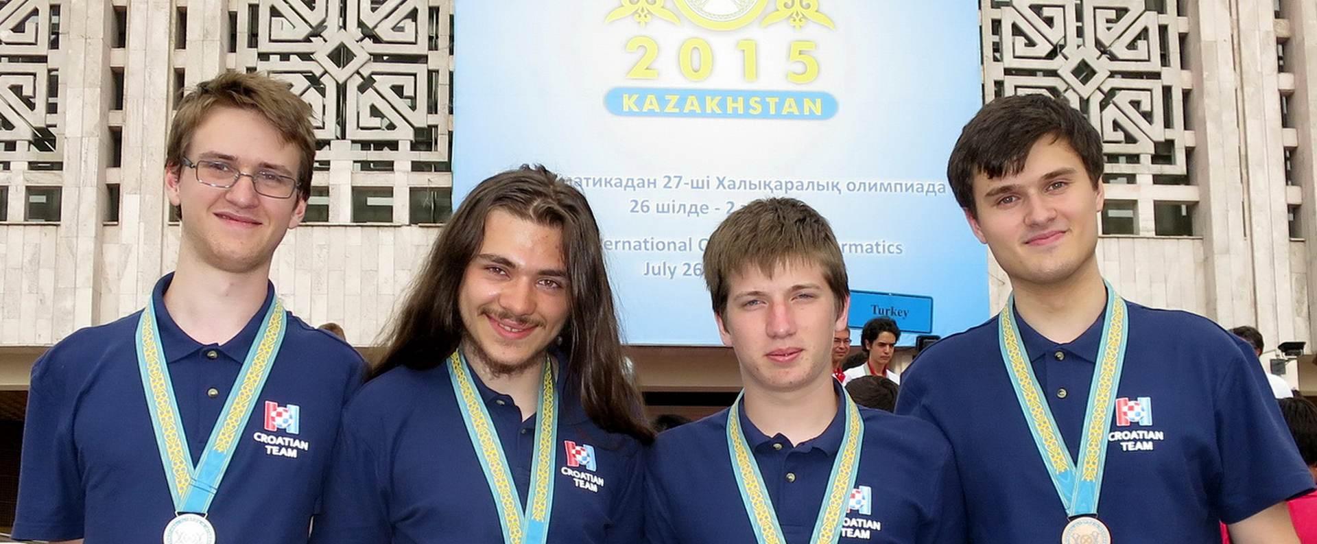 PONOS HRVATSKE:  Četiri medalje hrvatskim učenicima na svjetskoj Informatičkoj olimpijadi
