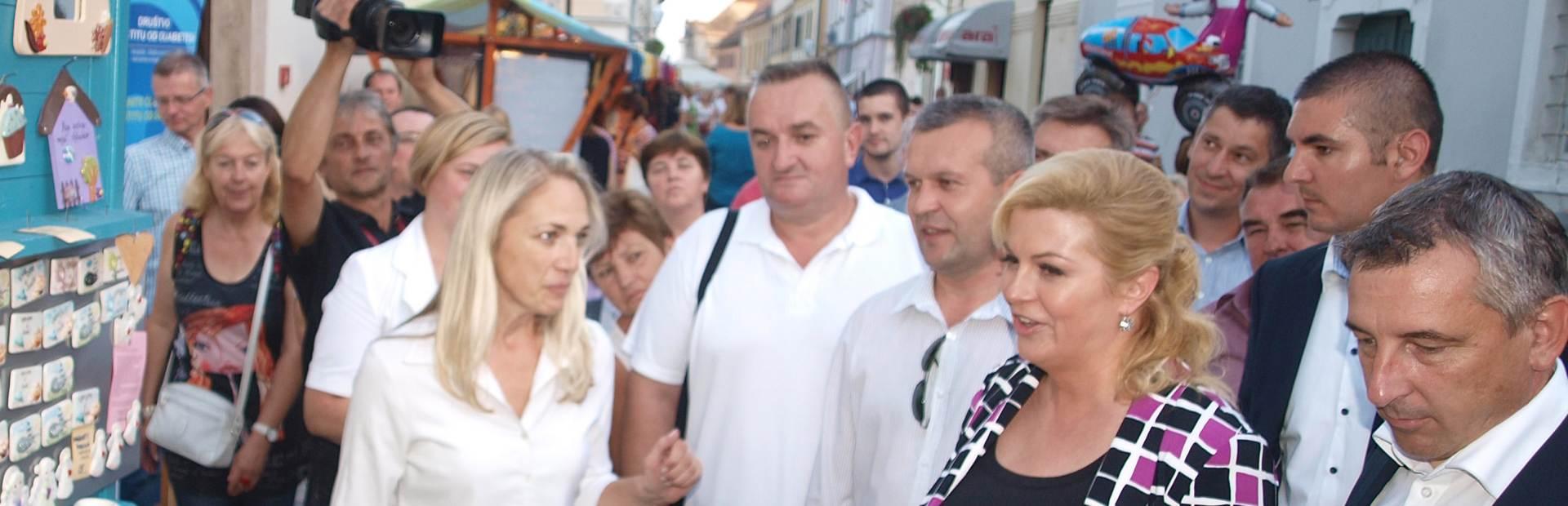 """Grabar Kitarović: """"Špancirfest"""" među najpopularnijim festivalima"""