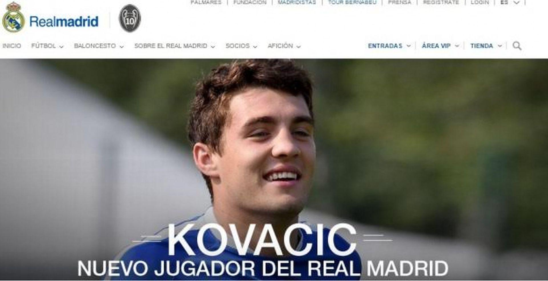 SADA JE I SLUŽBENO Mateo Kovačić novi je igrač Real Madrida