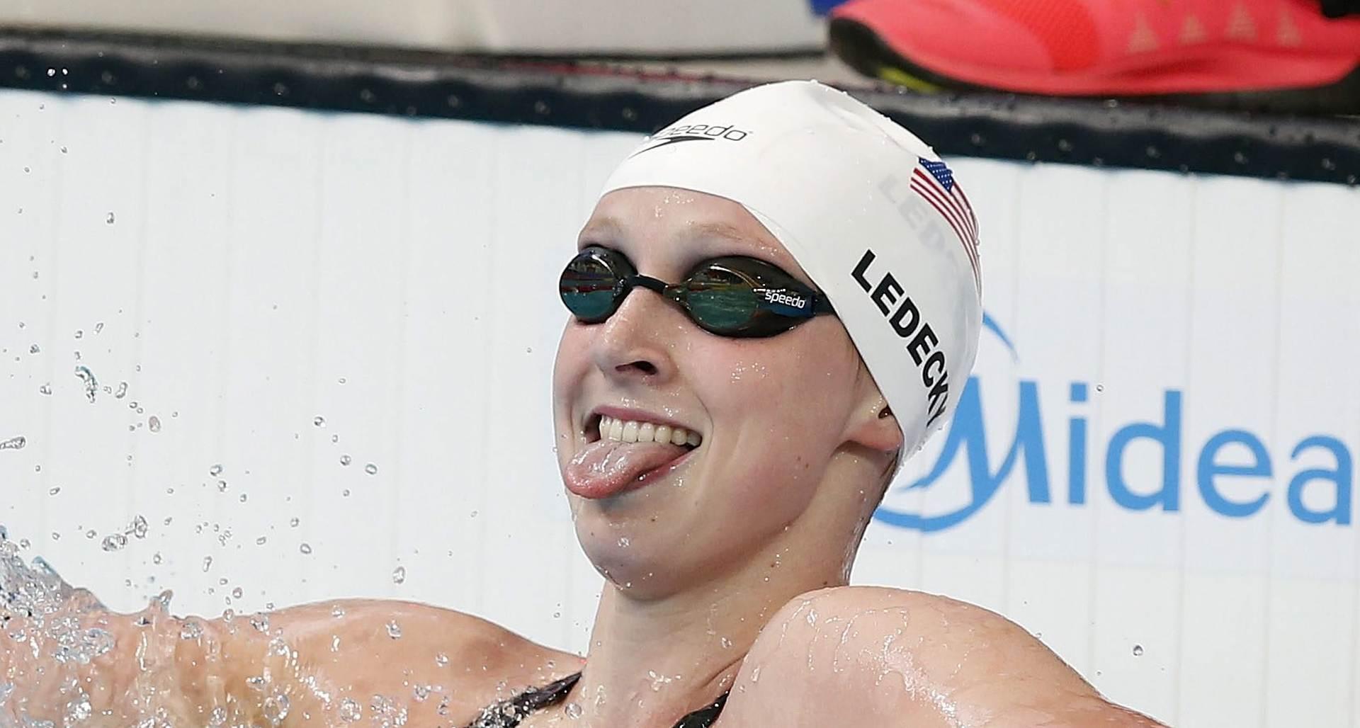 SP plivanje: Svjetski rekord Ledecky na 1500m