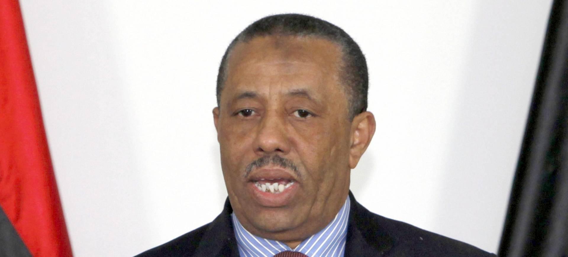 IZNENADNA ODLUKA: Libijski premijer podnio ostavku