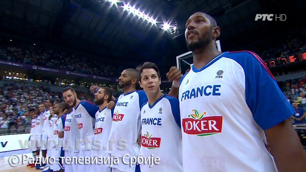 VIDEO: MARSELJEZA UNPLUGGED Francuski košarkaši sami otpjevali himnu nakon tehničkih problema u Beogradu
