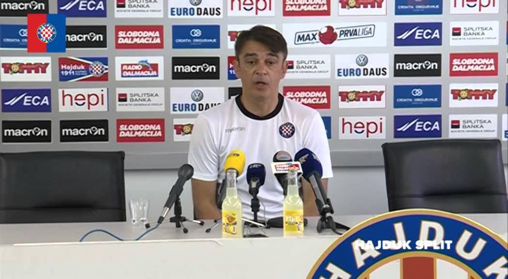 """VIDEO: Burić uoči Rijeke: """"Njihova jedina prednost je domaći teren"""""""