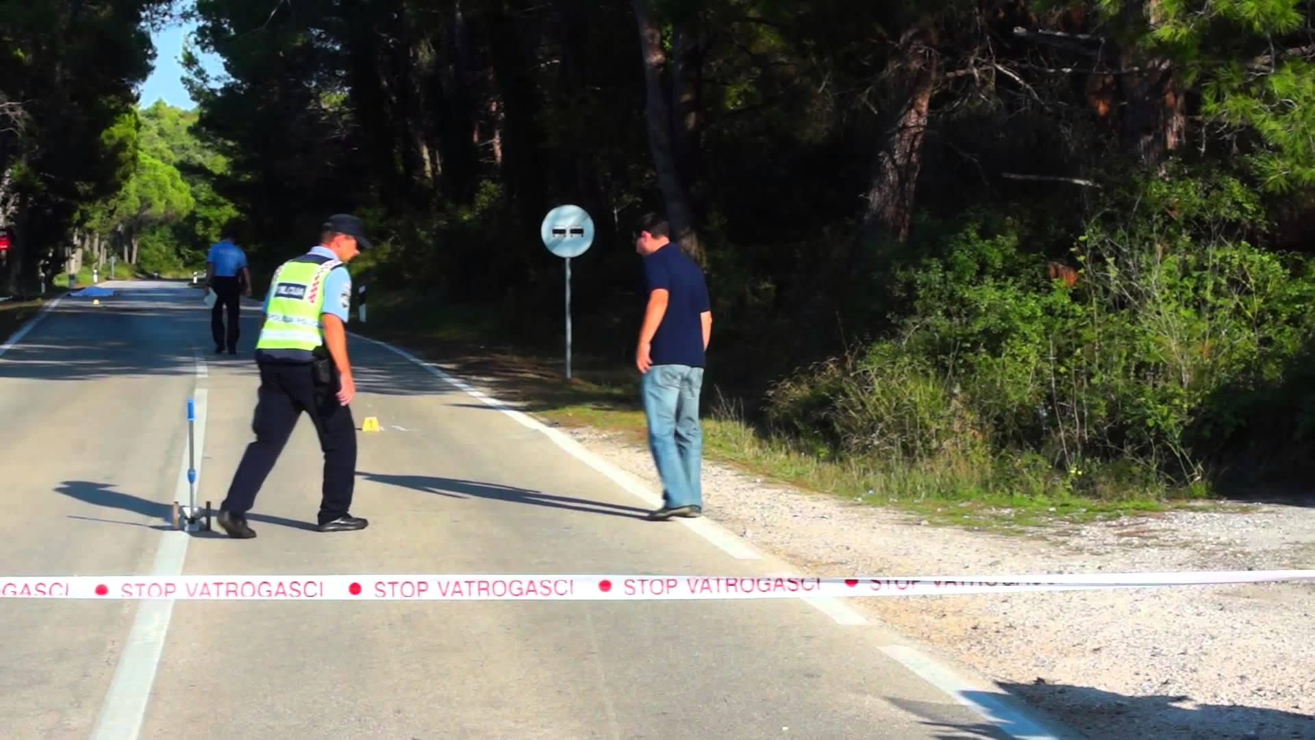 VIDEO: TEŠKA NESREĆA KOD PREMANTURE  Biciklist poginuo u sudaru s autom