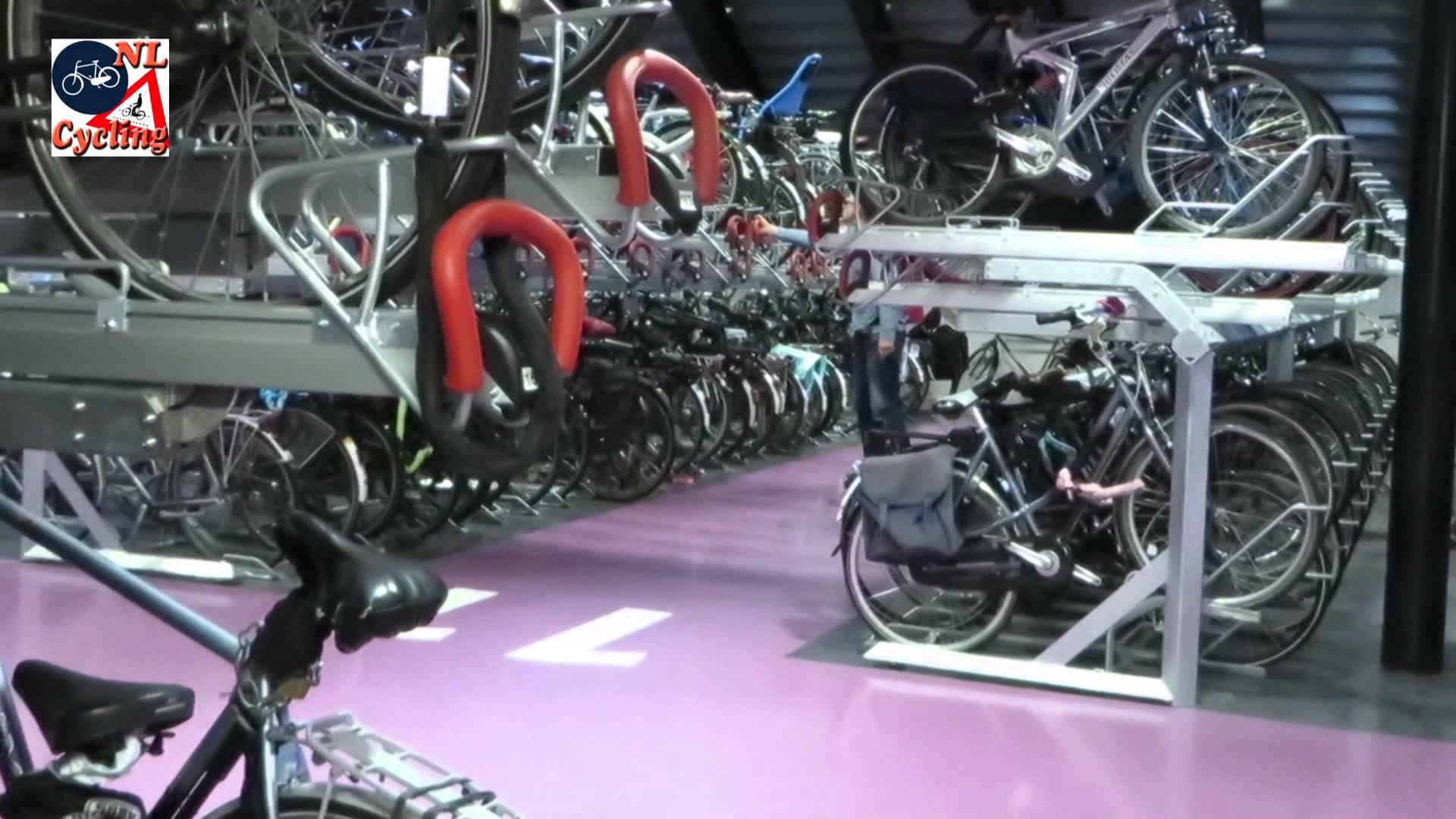 Gradi se najveća garaža na svijetu – za bicikle