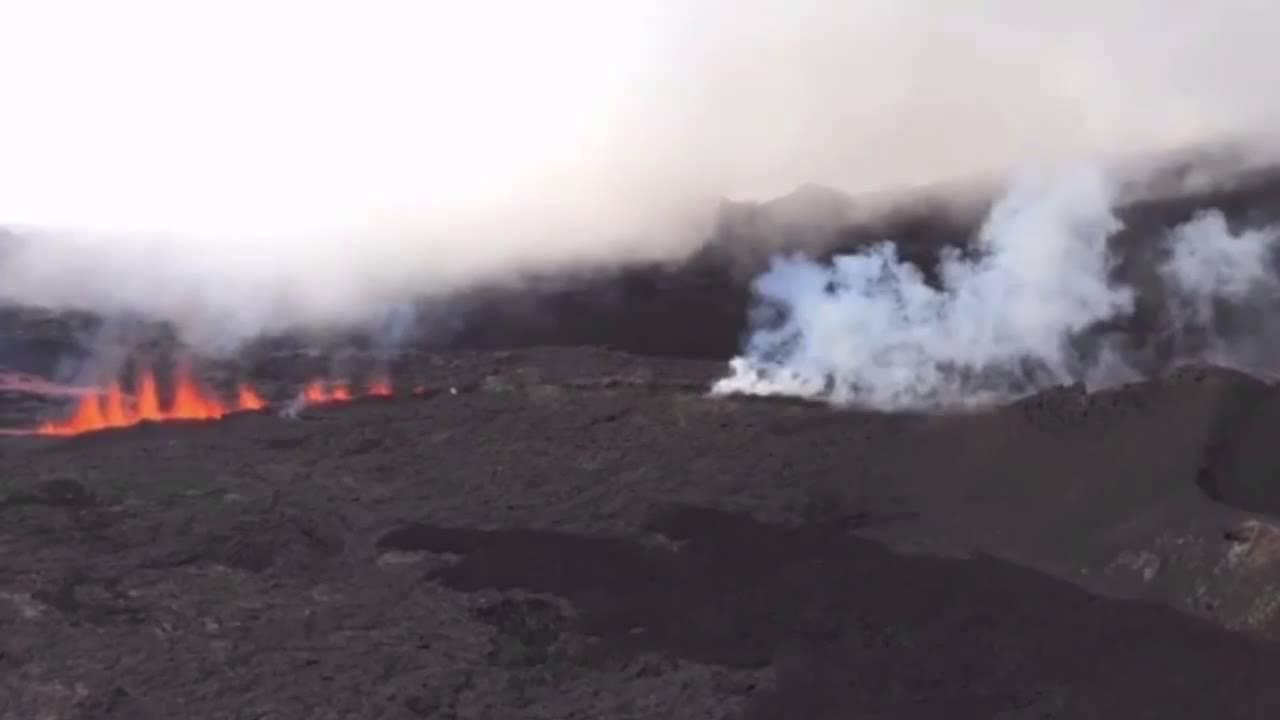 VIDEO: Eruptirao vulkan na Reunionu